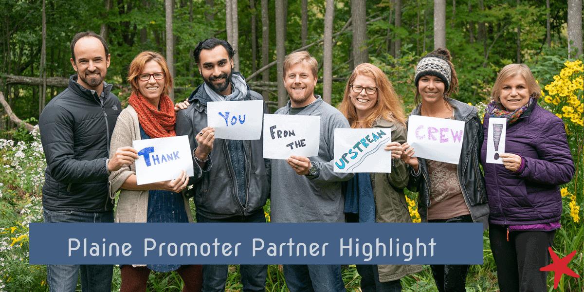 Partner Highlight: UPSTREAM Plaine Promoter