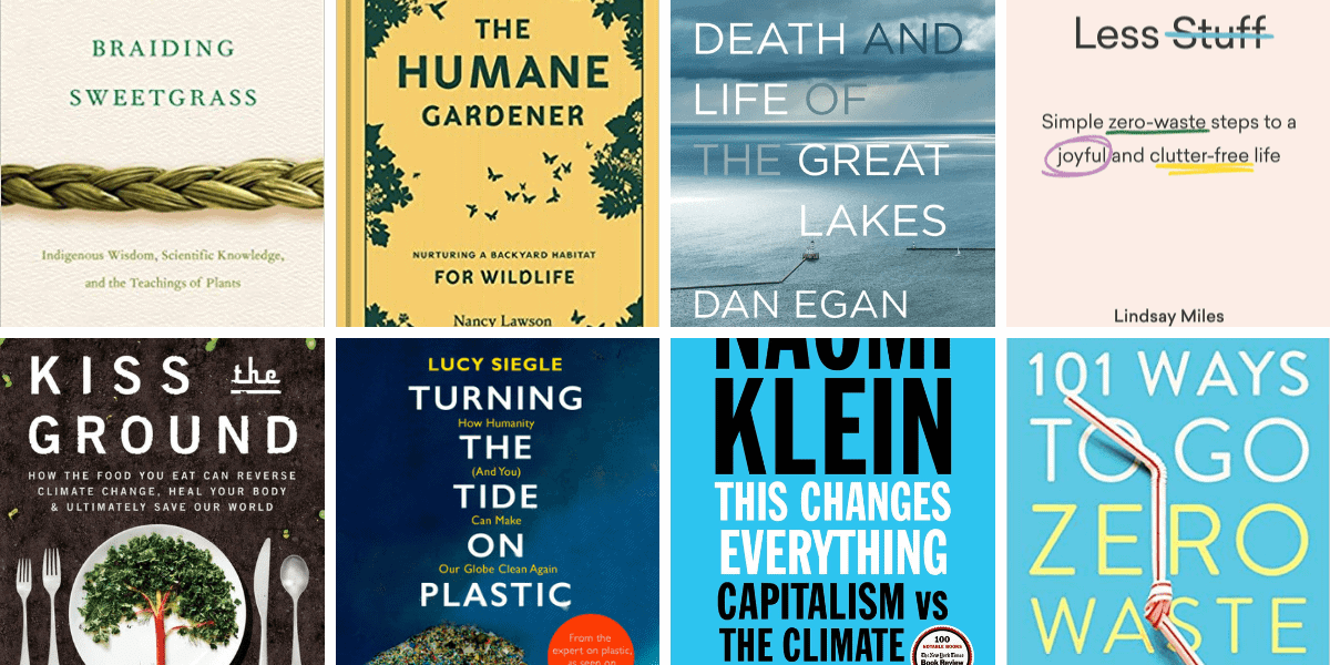 Book Recommendations to Help the Planet