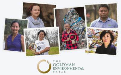 The 2021 Goldman Environmental Prize