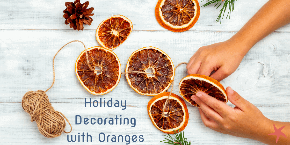 Holiday Decorating With Oranges