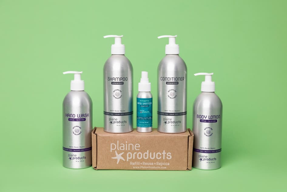 refillable eco products