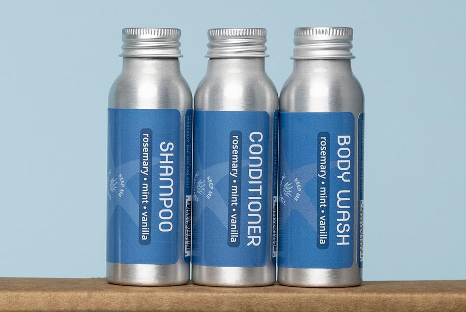 Plaine Product travel samples