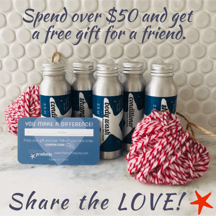 Share the Plaine Products Love!