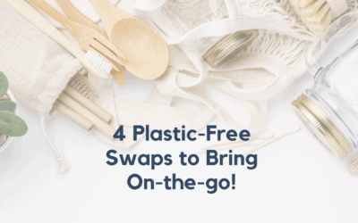 Plastic-Free July: How To Reduce Plastic On-The-Go