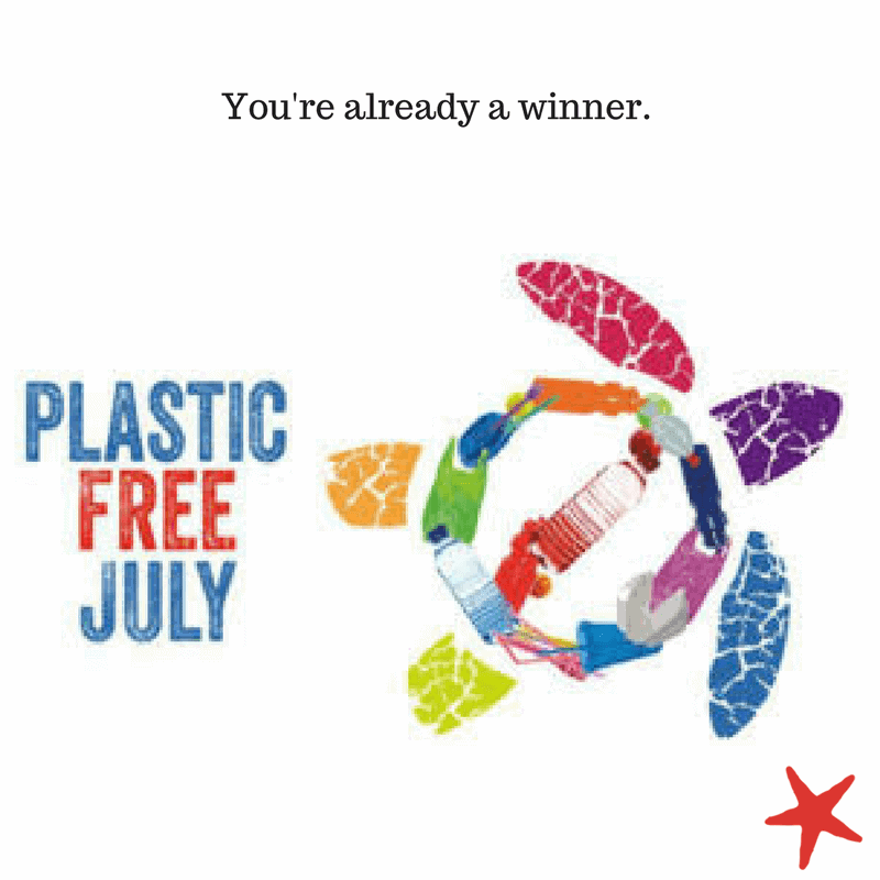 You've Already Won at Plastic-Free July