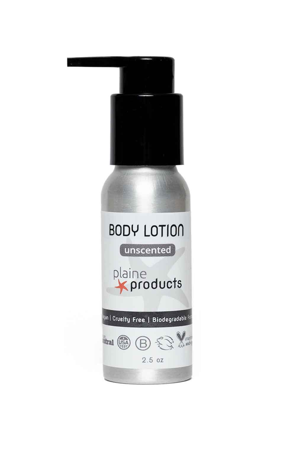 Travel Body Lotion unscented