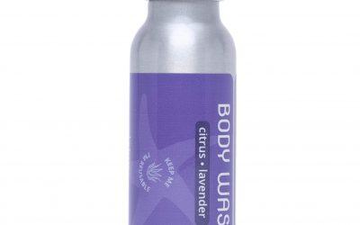 Travel Body Wash – Citrus Lavender