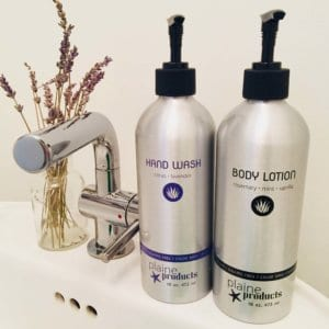 lotion and hand wash